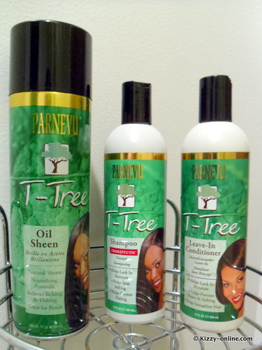 PARNEVU T-Tree Shampoo Leave In Conditioner Oil Sheen