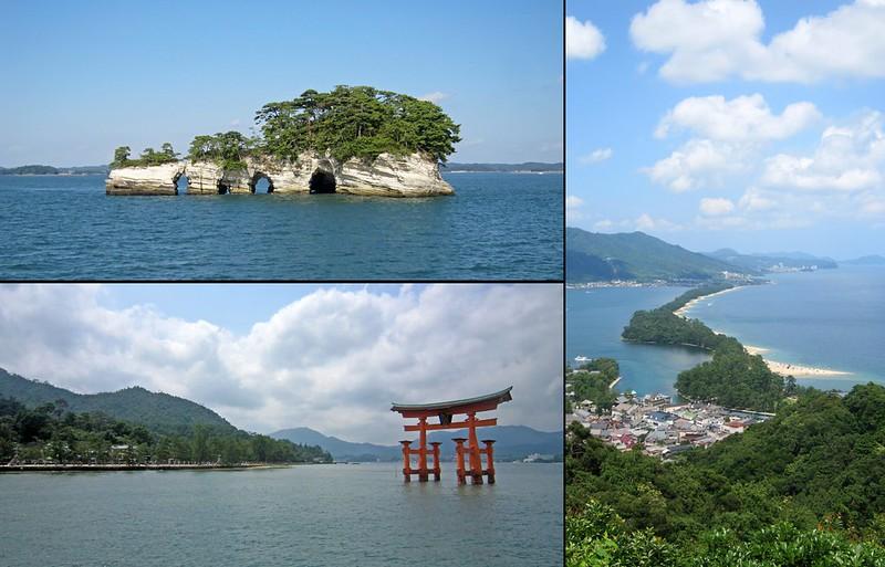 Tres Vistas de Japon