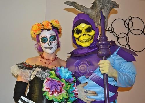Dia de los muertos & Skeletor