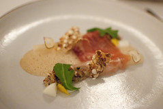 Salsify and ham
