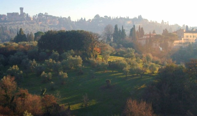 Vista from Garden of the Cavalier, Boboli Garden