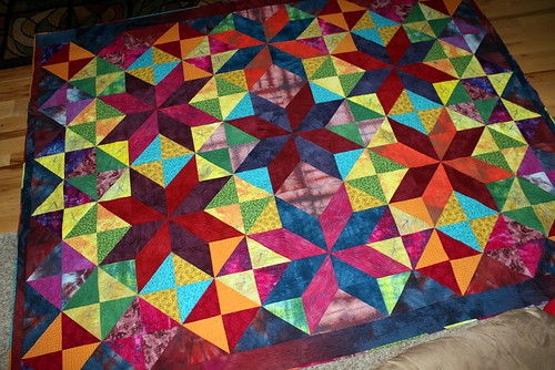 starry quilt