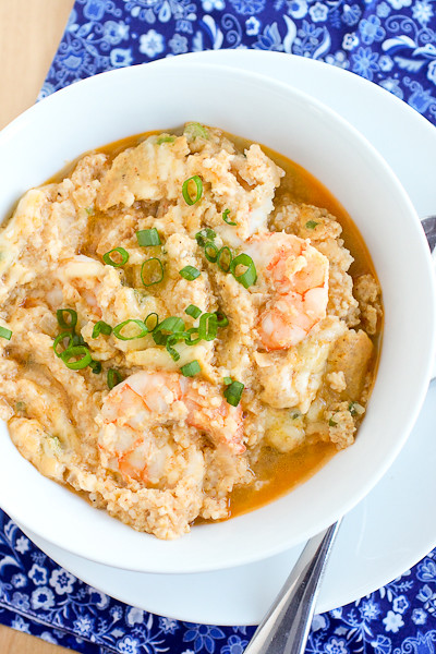 Skillet Shrimp and Grits