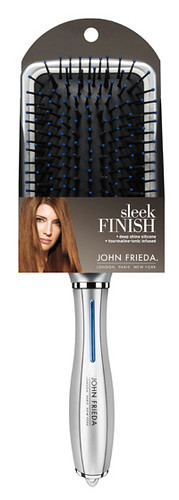 John Frieda's Sleek Finish brush.