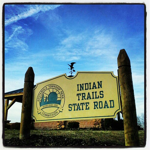 #indiantrails #Ashtabula #ohio #sky #clouds #instagood #blue