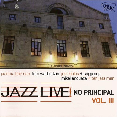 Jazz Live no Principal Vol.III