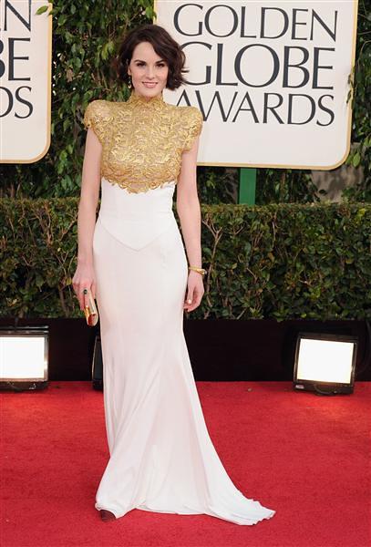 Golden Globe Michelle Dockery 2013