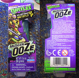 Nickelodeon  TEENAGE MUTANT NINJA TURTLES :: MUTAGEN OOZE viii (( 2013 ))