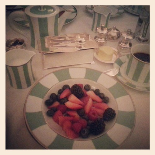 Claridges Hotel Breakfast