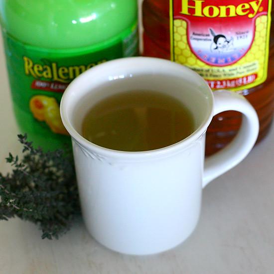 thyme tea