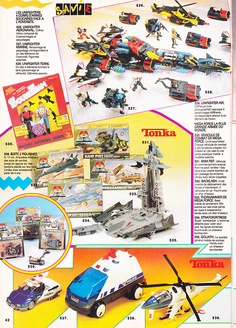 Unifighters (Galoob) 1990-91 8399422400_5d61991b50_z