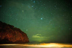 Starnight over the Indian Ocean