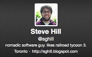 Twitter => Toronto