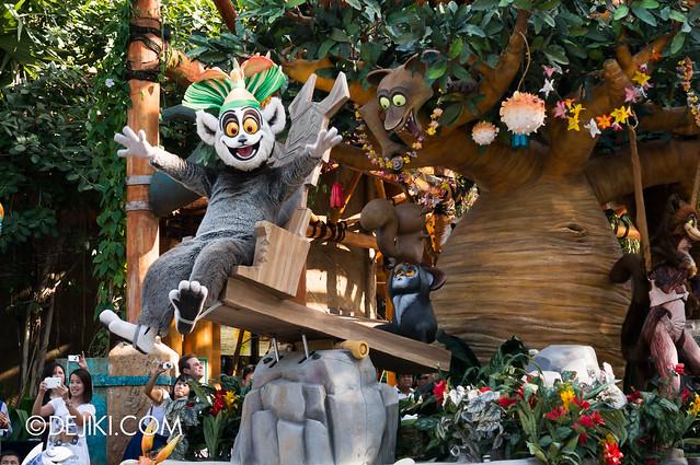 Hollywood Dreams Parade - Madagascar 4