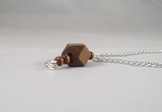 Geometric Wood Bar Necklace4