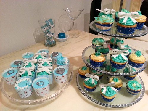 Tiffanys & Co Birthday Cupcake