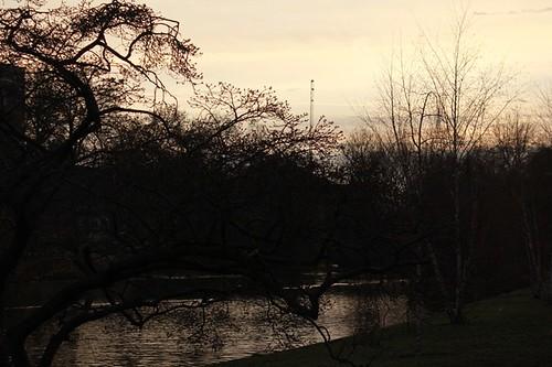 Al tramonto: giochi di luce