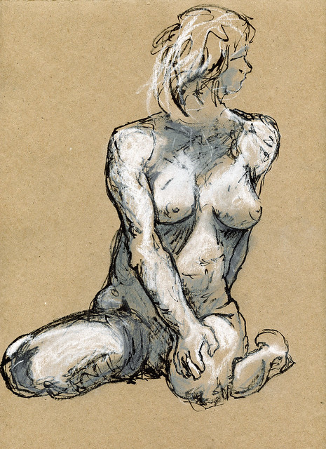 Life Drawing - Sandy Hill-3