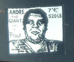 Andre the Giant Posse decal
