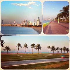Shuwaikh waterfront walking  track