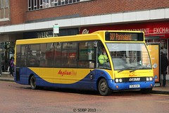 metropolitan area, vehicle, optare solo, transport, mode of transport, public transport, dennis dart, minibus, tour bus service, land vehicle, bus,