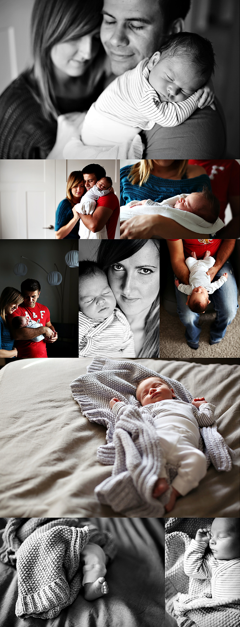 edmonton lifestyle newborn photography