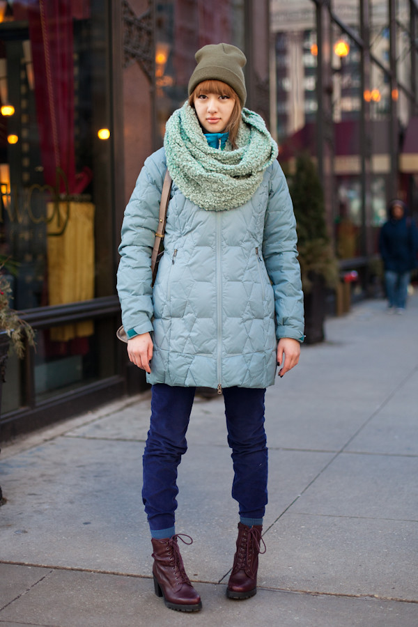 chicago street style winter