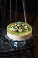 Double Melon Mousse Cake