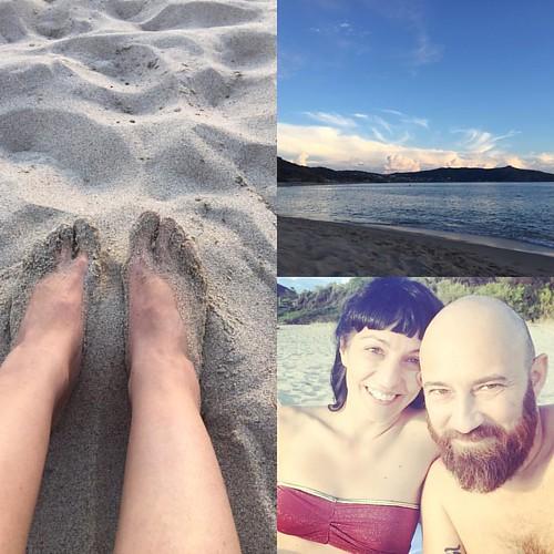 Esta playa es el paraíso #palinuro #palinurolesaline toda para nosotros :))