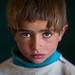 Portrait of an afghan boy with clear eyes, Badakhshan province, Zebak, Afghanistan by Eric Lafforgue