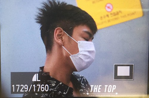 Big Bang - Incheon Airport - 19jun2015 - The TOP - 06