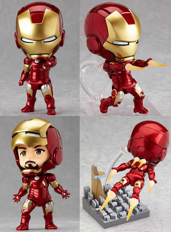 Nendoroid Iron Man Mark 7: Hero's Edition