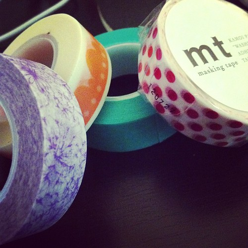 New washi tapes!!!!