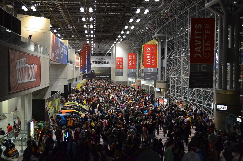 New York Comic Con 2012 Saturday
