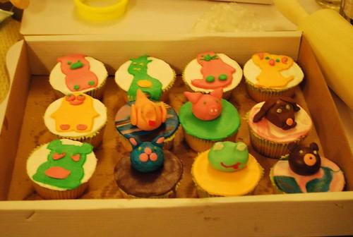 decorare cupcakes 2