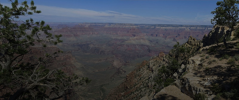 Grand Canyon Rim Trail Panorama