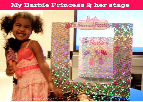 Barbie The Princess and the Popstar Movie Craft night Redbox #CouchCritics