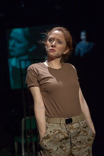 "Kate Morgan Chadwick as Lindsay Skinner in ""Bad Apples.""  Photo by Jeff Galfer."