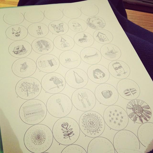 Button sketches