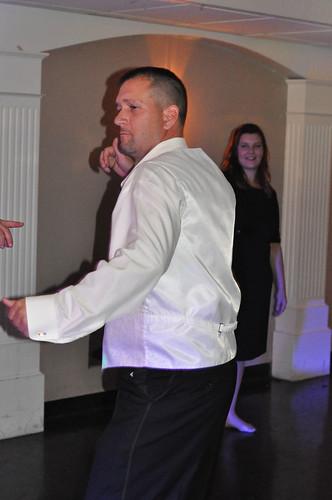 Brent dancing
