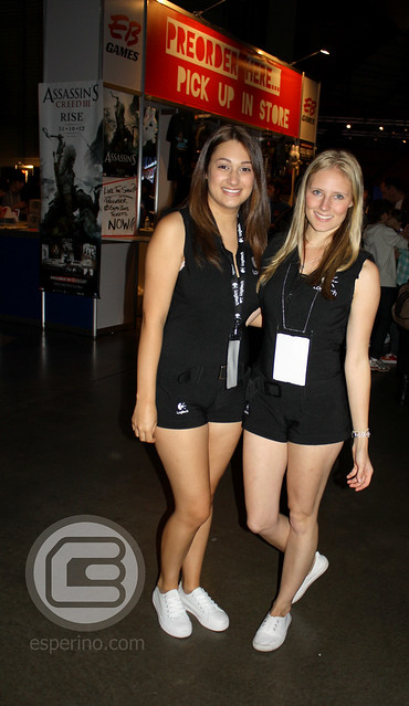 EB Expo 2012 Logitech Booth Babes