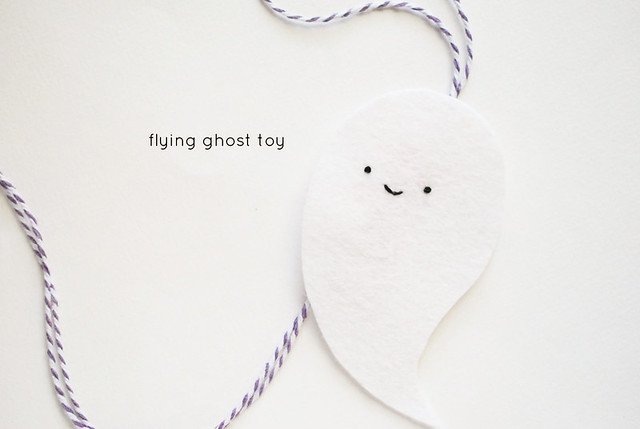 Flying Ghost Toy