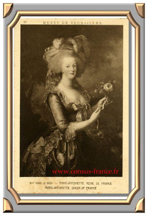 MARIE-ANTOINETTE - REINE DE FRANCE -70-150