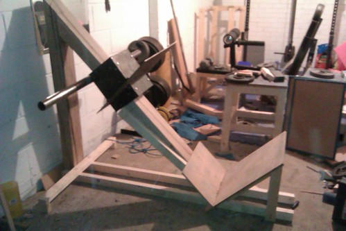 Built My Own Leg Press Bodybuilding Com Forums