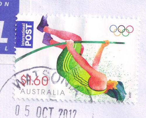 Australia Gold Medal Stamp