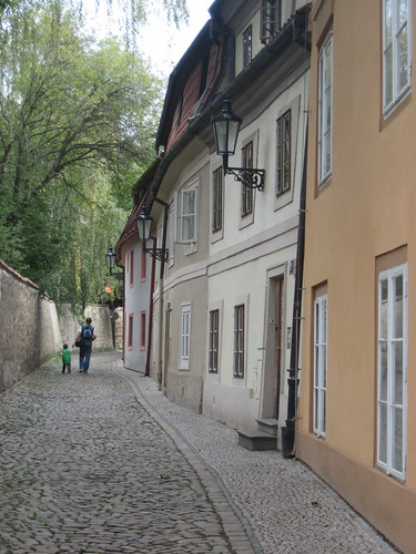 Strolling Through Prague Back Lanes
