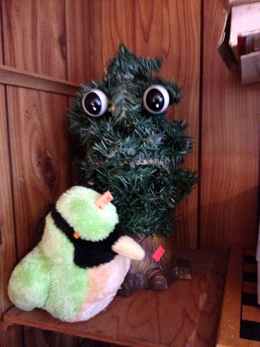 Big-eyed Christmas tree
