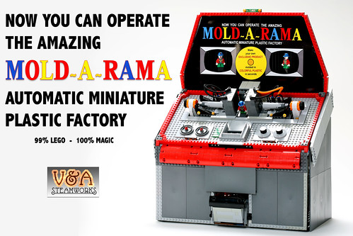LEGO - MOLD-A-RAMA by V&A Steamworks