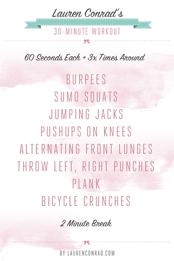 Shape Up My 30 Minute Workout