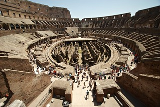 The Colosseum wide shot